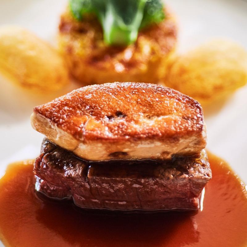 国産牛フィレ肉&フォアグラ無料試食つき