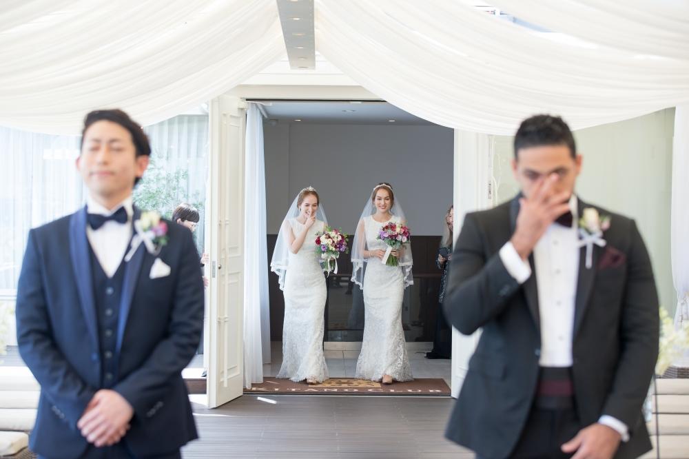twins wedding