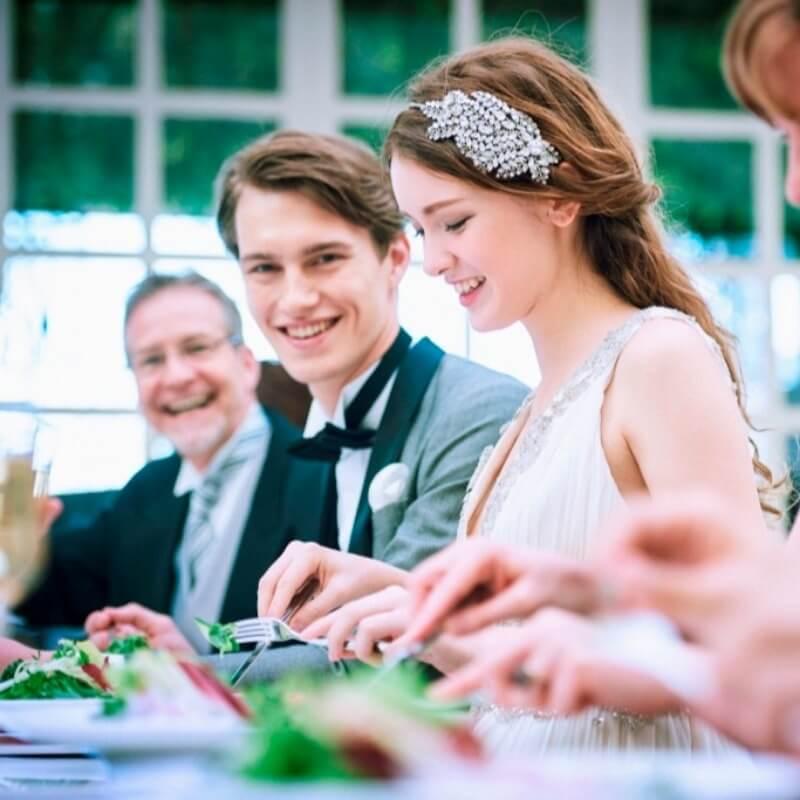 ご家族や親友たちとの挙式・会食プラン