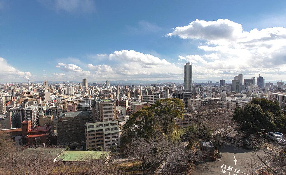 神戸の街並み 眺望
